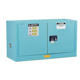 Acid Corrosive Piggyback Cabinet Manual 2 Door Vertical Storage