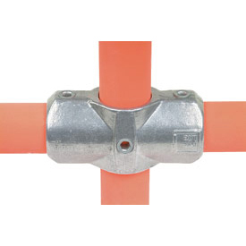 "Kee Safety - L26-8 - Two Socket Cross 1.5 Inch Pipe Fitting, 1-1/2"" Dia."