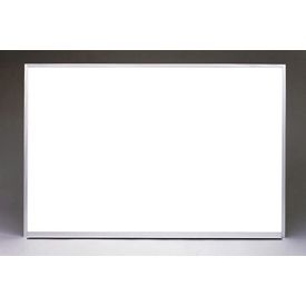 """Ghent 96"""" x 48""""H Whiteboard with Aluminum Frame - Non-Magnetic - Includes Marker/Eraser - USA Made"""