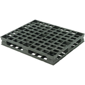 Double Sided Rackable Plastic Pallet 4000 Lbs Max Dynamic Wt Capacity