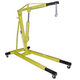 Vestil Floor Crane with Telescopic Boom EHN-40-T 4000 Lb. Capacity