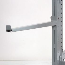 "Cantilever Rack Straight Arm With 2"" Lip, 42"" L, 2900 Lbs Capacity"