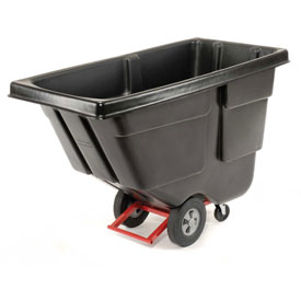 Rubbermaid® 1304 Utility Duty 1/2 Cu. Yd. Tilt Truck