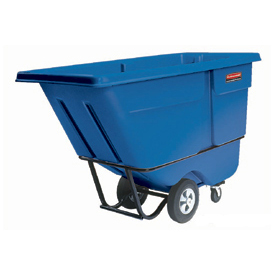 Rubbermaid® 1305 Standard Duty 1/2 Cu. Yd. Blue Tilt Truck