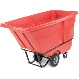 Rubbermaid® 1315 Standard Duty 1 Cu. Yd. Red Tilt Truck