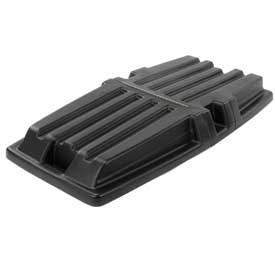 Hinged Lid 1317 for 1 Cubic Yard Rubbermaid® Tilt Trucks