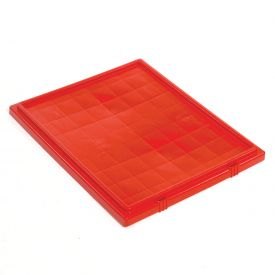 Akro-Mils Lid 35301 For Nest & Stack Tote 35300, Red - Pkg Qty 3