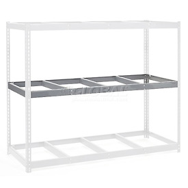 "Additional Level For Wide Span Rack 96""W x 48""D No Deck 1100 Lb Capacity"