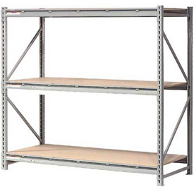 "Extra High Capacity Bulk Rack With Wood Decking 96""W x 48""D x 72""H Starter"
