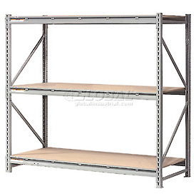 "Extra High Capacity Bulk Rack With Wood Decking 72""W x 48""D x 96""H Starter"
