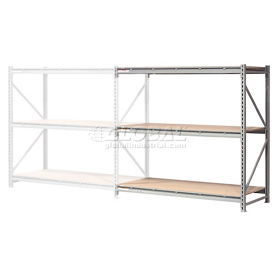 "Extra High Capacity Bulk Rack With Wood Decking 60""W x 36""D x96""H Add-On"