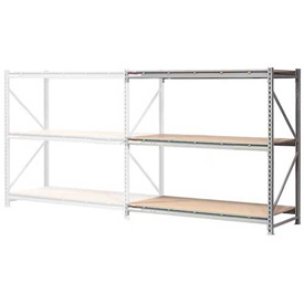 "Extra High Capacity Bulk Rack With Wood Decking 72""W x 24""D x 96""H Add-On"