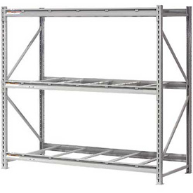 "Extra High Capacity Bulk Rack Without Decking 60""W x 24""D x 96""H Starter"