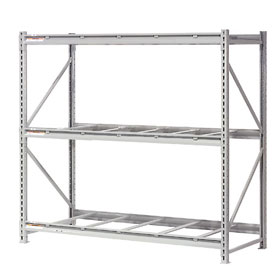 "Extra High Capacity Bulk Rack Without Decking 96""W x 36""D x 96""H Starter"