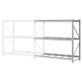 "Extra High Capacity Bulk Rack Without Decking 72""W x 48""D x 96""H Add-On"