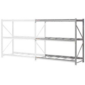 "Extra High Capacity Bulk Rack Without Decking 96""W x 24""D x 96""H Add-On"