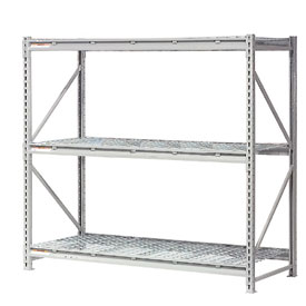 "Extra High Capacity Bulk Rack With Wire Decking 72""W x 48""D x 72""H Starter"
