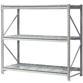 "Extra High Capacity Bulk Rack With Wire Decking 96""W x 48""D x 96""H Starter"