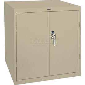 Sandusky Elite Series Desk Height Storage Cabinet EA11361830 - 36x18x30, Putty