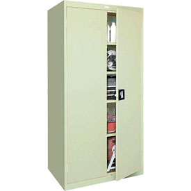 Sandusky Elite Series Storage Cabinet EA4R361872 - 36x18x72, Putty