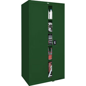 Sandusky Elite Series Storage Cabinet EA4R361878 - 36x18x78, Green