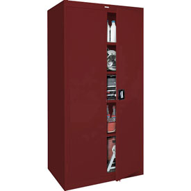 Sandusky Elite Series Storage Cabinet EA4R361878 - 36x18x78, Red