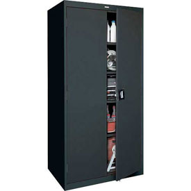 Sandusky Elite Series Storage Cabinet EA4R362478 - 36x24x78, Black