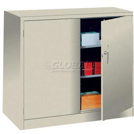 Lyon Storage Cabinet PP1043 Counter Height 36x18x42 - Putty
