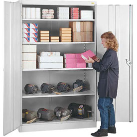 Lyon Storage Cabinet PP1080  - 36x18x78 - Putty