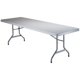 "Lifetime® Portable Folding Table 96"" - White Granite"