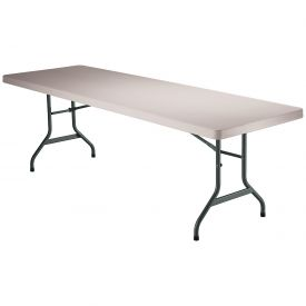 "Lifetime® Portable Folding Table 96"" - Almond"