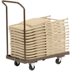 Folding Chair Cart Holds 24