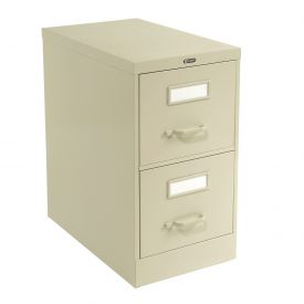 Global™ Vertical File Legal Size 2 Drawer, Desert Putty