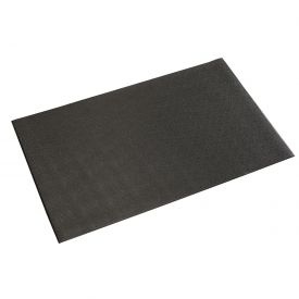 "Pebble Surface Mat Black 3/8"" Thick 36x60"