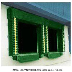 Chalfant Green Dock Door Seal Model 131 Heavy Duty 40 Ounce 8'W x 10'H