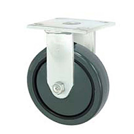 "Faultless Rigid Plate Caster 7799-3 3"" Polyurethane Wheel"