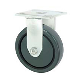 "Faultless Rigid Plate Caster 7799-4 4"" Polyurethane Wheel"