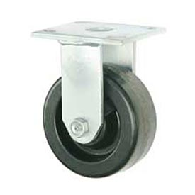 "Faultless Rigid Plate Caster 3431-5 5"" Phenolic Wheel"