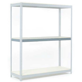 "Additional Level For Wide Span Rack 60""W x 36""D Wood Deck 1200 Lb Capacity"