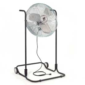 TPI F24HTE,24 Inch Industrial High Stand Fan 1/8 HP 2100 CFM