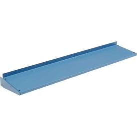 "72""W x 12""D Cantilever Shelf For Uprights Shelf - Blue"