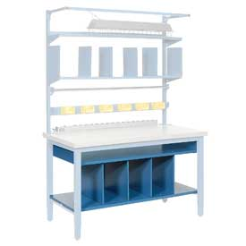 "72""W Lower Shelf Kit with Dividers"