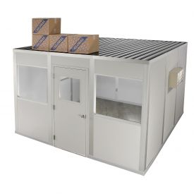Modular Partition Storage Roof For Four Wall 10' X 12'