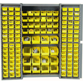 Bin Cabinet With Removable Bins