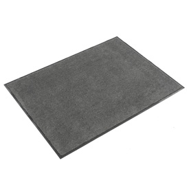 Plush Super Absorbent Mat 6'W Cut Length Up To 60 Ft. Charcoal