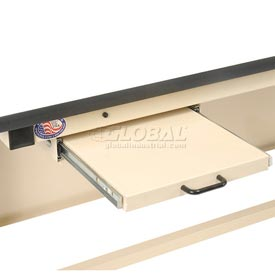 Pull-Out Writing Shelf for Workstation