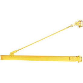 Abell-Howe® Top-Braced Wall Mounted Jib Crane WMC112 1,000 Lb. Capacity