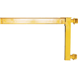Abell-Howe® Under-Braced Wall Mounted Jib Crane 960016 2000 Lb. Capacity