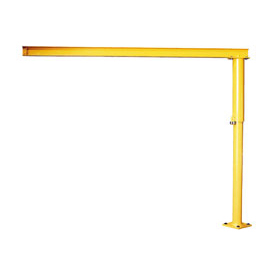 Abell-Howe® Light Duty Floor Crane 4S0021 1000 Lb. Capacity