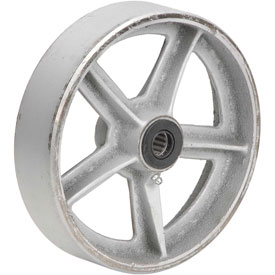 "8"" x 2"" Semi-Steel Wheel - Axle Size 3/4"""